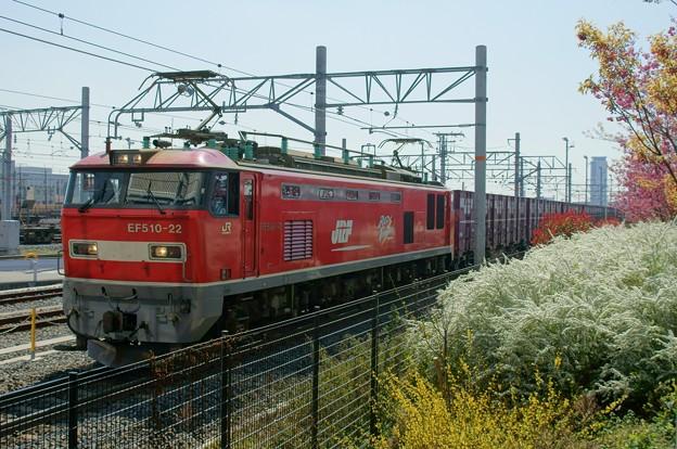 Photos: 2074レ【EF510-22牽引】
