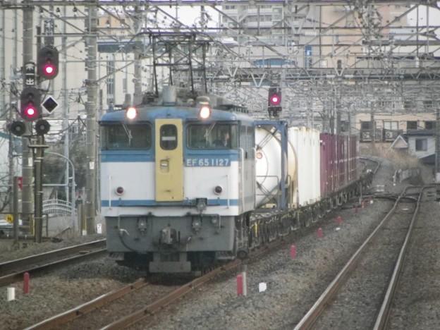 EF65 1127牽引 76レ