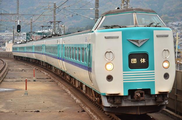 381系湖西線 団臨