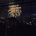 写真: 深志高校の花火