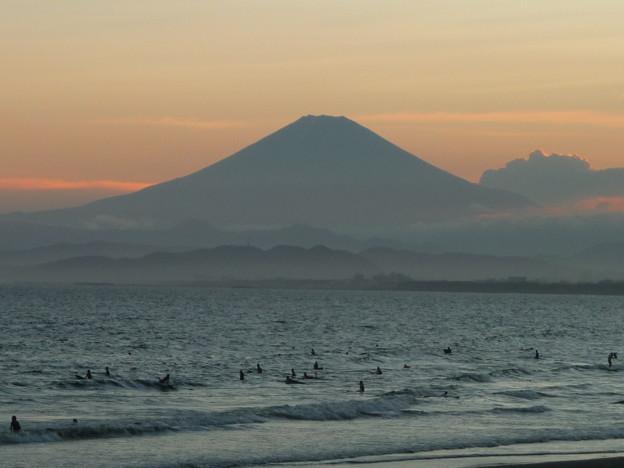 富士山と海岸2
