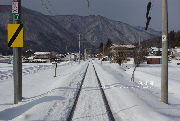 Photos: 一津踏切より