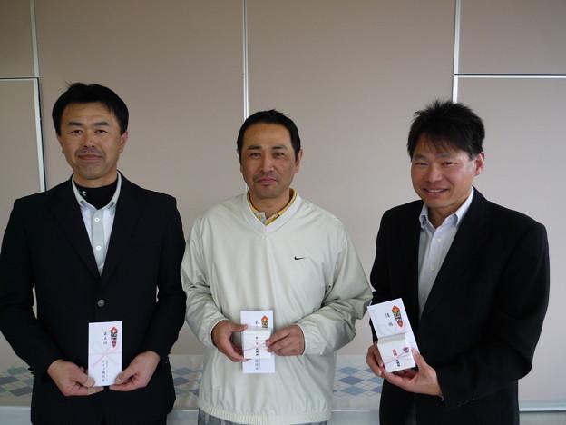 写真: 足利カントリークラブ3月Bクラス月例杯競技入賞のお客様!!