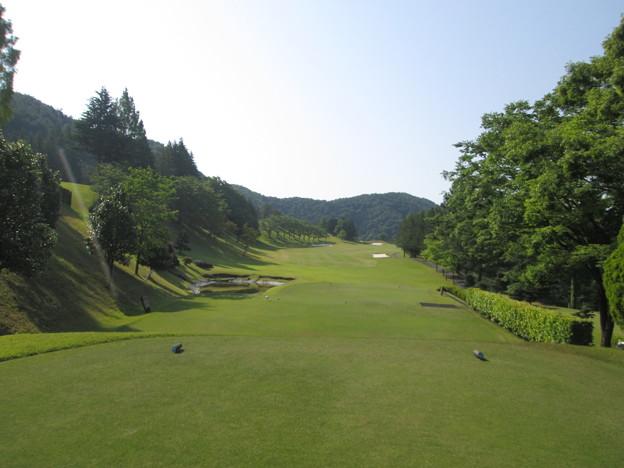 写真: 足利城ゴルフ倶楽部10番ミドルホール画像