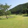 写真: 足利城ゴルフ倶楽部13番ロングホール画像?2015.5.27