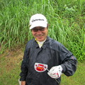 写真: 足利城ゴルフ倶楽部でスコッティーキャメロンの新パターを手に、ニンマリするS様!!2015.6.3