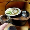 Photos: アワビの貝殻で磯焼き