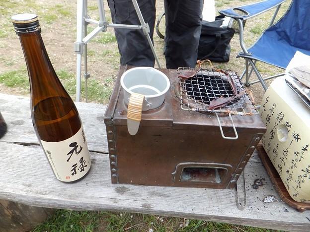 燗酒は小澤酒造「元禄」