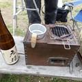 Photos: 燗酒は小澤酒造「元禄」