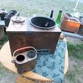 Photos: 大小燗銅壺の比較