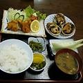 Photos: 大アサリ定食