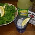 RIMG4193ジムビームのレモンジーナ割&クレソンサラダ