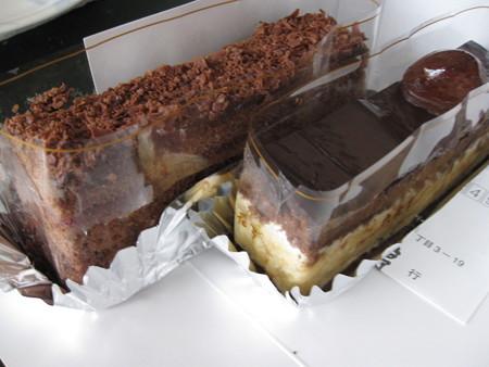 チョコレートケーキはこんな