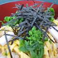 写真: 菜の花の五目寿司
