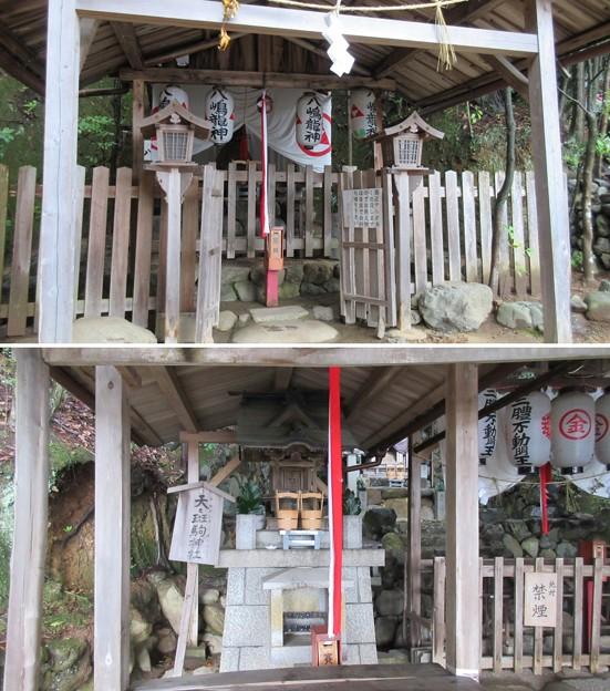 二葉姫稲荷神社 末社(京都市北区)