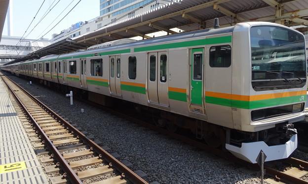 JR東日本横浜支社 湘南新宿ラインE231系(東海道線直通)