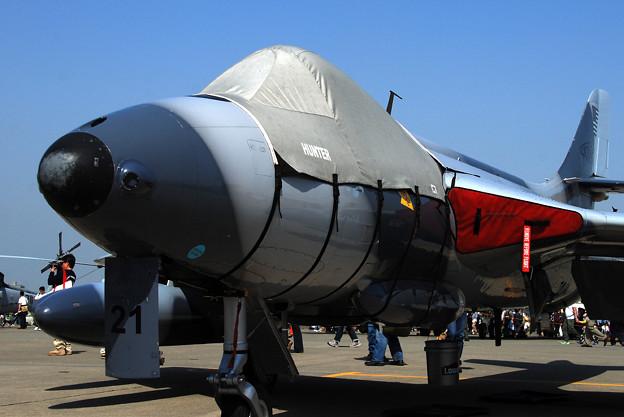 写真: Hawker Hunter