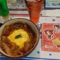 写真: 棗丼……さすがに食べきれなかったー!(>_<)