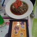 写真: お友達は右京さんのお蕎麦