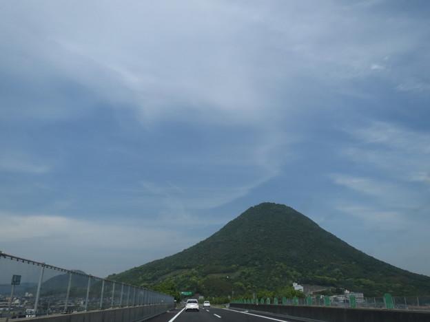 讃岐富士。