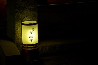 山門前の灯火