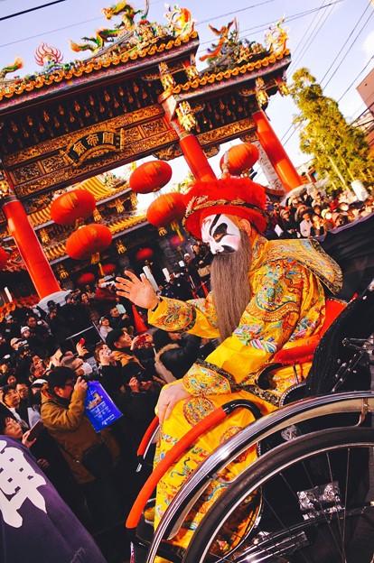 中華の王。。横浜中華街祝賀パレード 2月28日