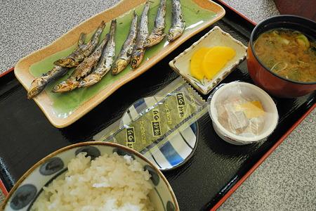 朝定食(道の駅・紀伊長島マンボウ【三重】)・1