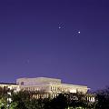 Photos: 3月12日 金星と木星最接近1日前