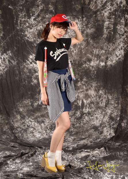 瑛美カープ女子2L
