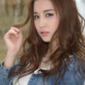 写真: 益田杏奈噴水アップ2L