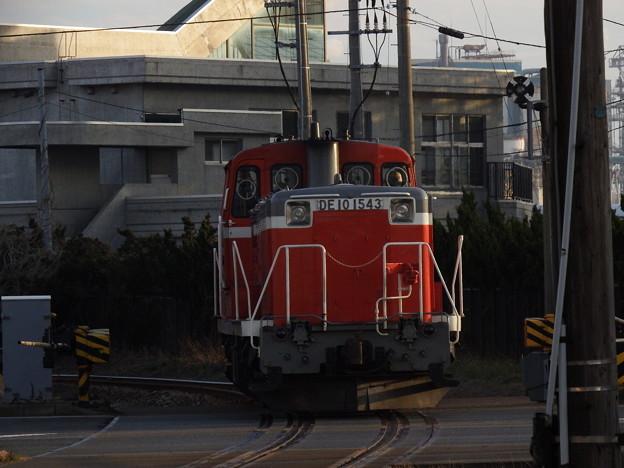 秋田臨海鉄道DE10‐1543単機 後追い1
