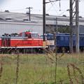 Photos: AT構内~留置線のDE10-1765&EF60-19