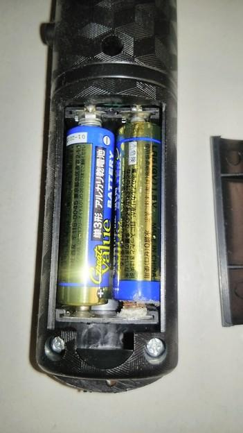 乾電池の液漏れ(その1)