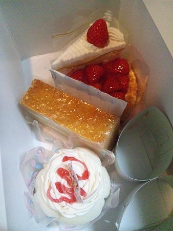 不二家のケーキ♪