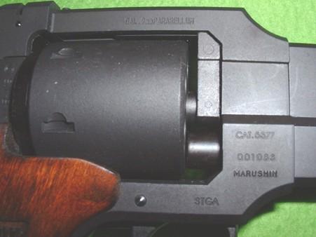 マルシン 「トグサの銃 マテバM-M2007」 右側面 刻印 Doburoku-TAO