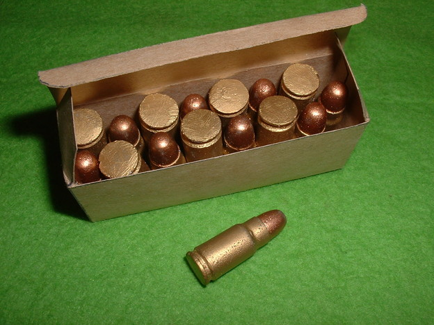 8mm南部 レジン製ダミーカート を箱に詰める Doburoku-TAO