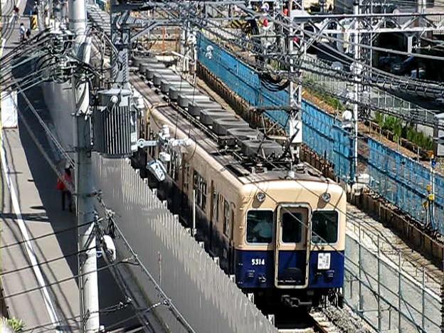 阪神5311形5314(看板ジェット)