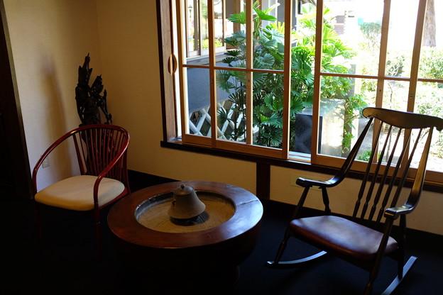 旧澤村邸の休憩室