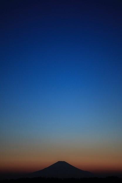 富士の山 ~Gradation at night~