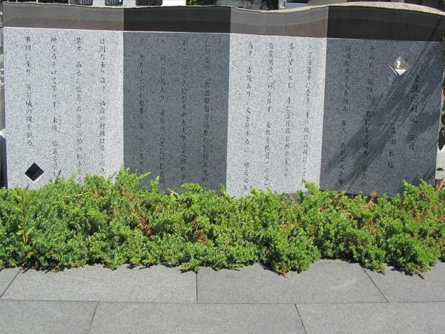 27.6.7吉田松陰「東北遊日記」碑