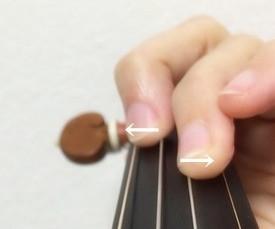 中野・江古田 バイオリン 個人レッスン ヴィオラ 吉瀬弥恵子 ワイズ音楽教室 指が太い人のお悩み