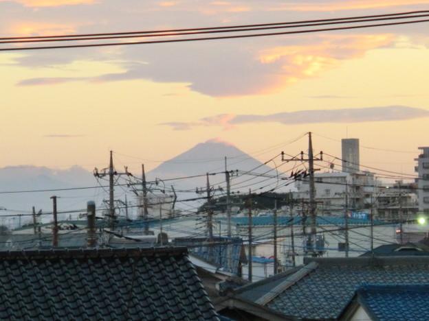 Photos: 歩道橋から見た富士山!