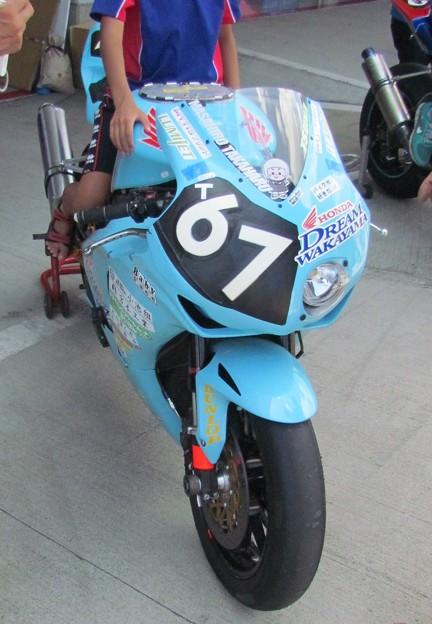 2014 鈴鹿8耐 Honda DREAM 和歌山 西中綱 岸田尊陽 新庄雅浩 CBR1000RR 67