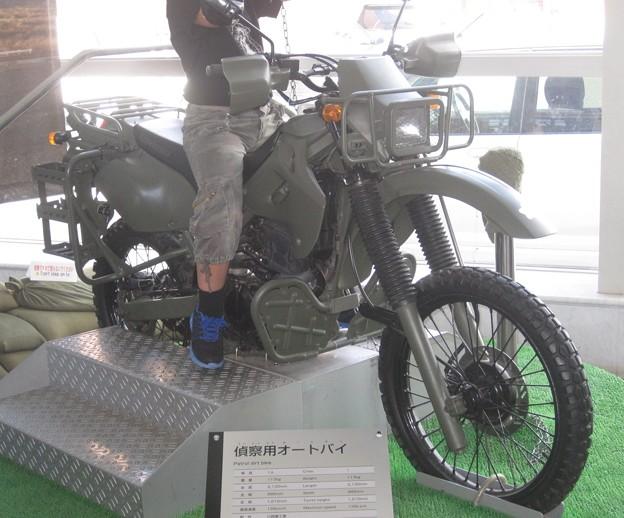 偵察用オートバイ ホンダXLR250RIMG_1601