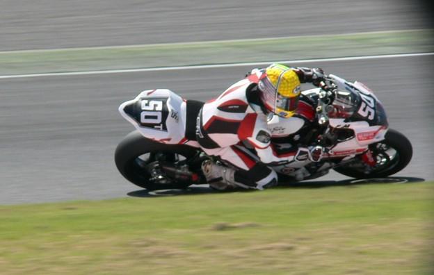 写真: 2014 鈴鹿8耐 TEAM MOTORS EVENTS APRIL MOTO Gregory FASTRE Michael SAVARY Jimmy STORRAR 9