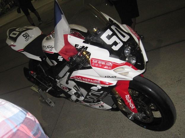 写真: 2014 鈴鹿8耐 TEAM MOTORS EVENTS APRIL MOTO Gregory FASTRE Michael SAVARY Jimmy STORRAR 49