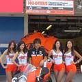写真: 2014 鈴鹿8耐 Team HOOTERS with 斉藤祥太 大樂竜也 相馬利胤 奥田貴哉 KTM 1190 RC8R  15