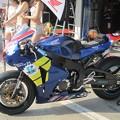 写真: 2014 鈴鹿8耐 B'WISE レーシングチーム 櫻井賢一 中村豊  澤村俊紀 HONDA CBR1000RR 3