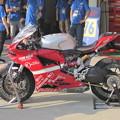 写真: 2014 鈴鹿8耐 スガイレーシングジャパン 須貝義行 蒲谷朋大 ドゥカティ 1199パニガーレR 458