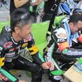 写真: 2014 鈴鹿8耐 RSガレージハラダ姫路 原田洋孝 田中公司 中山智博 KAWASAKI ZX-10R 089